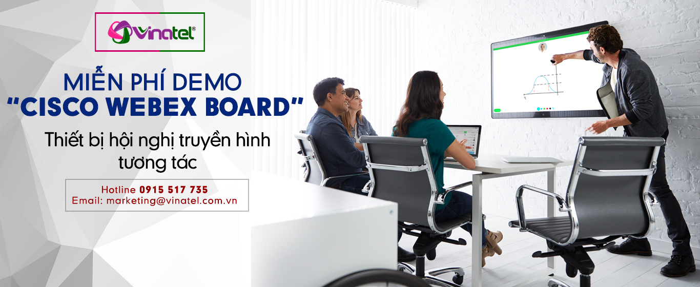 MIỄN PHÍ DEMO CISCO WEBEX BOARD 1